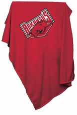 Arkansas Razorbacks Sweatshirt Blanket