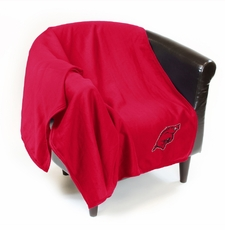 Arkansas Razorbacks Sweatshirt Throw Blanket
