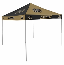 Army Black Knights Black / Gold Checkerboard Logo Canopy Tailgate Tent