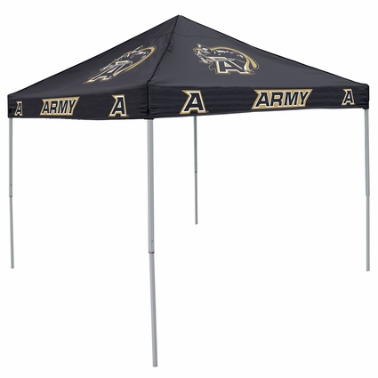 Army Black Knights Black Logo Canopy Tailgate Tent
