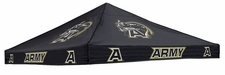 Army Black Knights Black Logo Tent Replacement Canopy