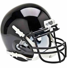 Army Black Knights Black Schutt Authentic Mini Helmet