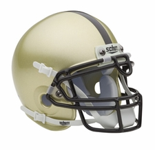 Army Black Knights Gold Schutt Authentic Mini Helmet
