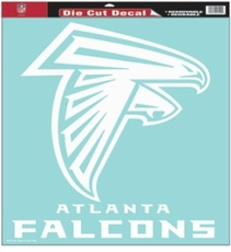 Atlanta Falcons 18 x 18 Die-Cut Decal