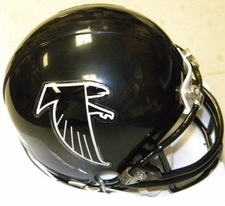 Atlanta Falcons 1990-2002 Throwback Replica Mini Helmet
