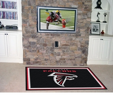 Atlanta Falcons 4'x6' Floor Rug
