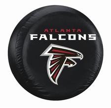 Atlanta Falcons Black Standard Spare Tire Cover