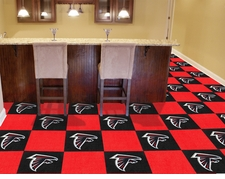 "Atlanta Falcons Carpet Tiles - 20 18"" x 18"" Tiles"
