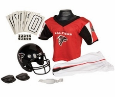 Atlanta Falcons Deluxe Youth / Kids Football Uniform Set