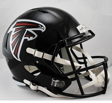 Atlanta Falcons Full-Size Deluxe Replica  Speed Helmet