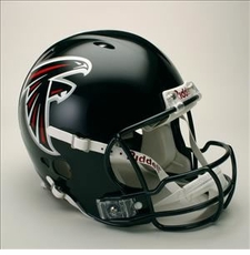Atlanta Falcons Full Size Riddell Revolution NFL Helmet