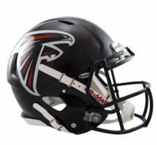 Atlanta Falcons Revolution Speed Riddell Authentic Helmet