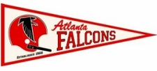 Atlanta Falcons Throwback Wool Pennant