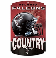Atlanta Falcons Wood Sign