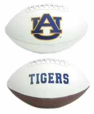 Auburn Tigers Full Size Signature Embroidered Football