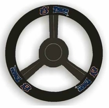 Auburn Tigers Leather Steering Wheel Cover