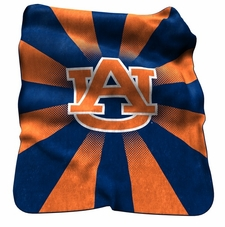 Auburn Tigers Raschel Throw
