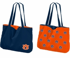 Auburn Tigers Reversible Tote Bag