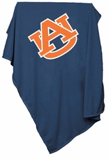 Auburn Tigers Sweatshirt Blanket (Navy)