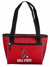 Ball State Cardinals 16 Can Cooler Tote