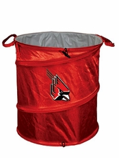 Ball State Cardinals Tailgate Trash Can / Cooler / Laundry Hamper
