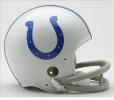 Baltimore Colts 1958-77 2-Bar Throwback Replica Mini Helmet