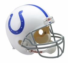Baltimore Colts 1958-77 Throwback Riddell Deluxe Replica Helmet