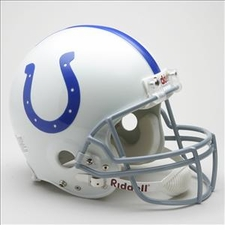 Baltimore Colts 1958-77 Throwback Riddell Pro Line Helmet