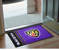 "Baltimore Ravens 20""x30"" Uniform-Inspired Floor Mat"