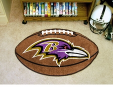 "Baltimore Ravens 22""x35"" Football Floor Mat"