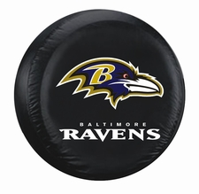Baltimore Ravens Black Large Spare Tire Cover