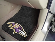 Baltimore Ravens Car Mats 2 Piece Front Set