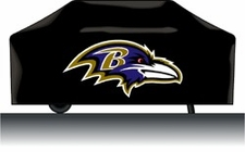 Baltimore Ravens Deluxe Barbeque Grill Cover