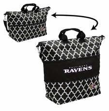 Baltimore Ravens  - Expandable Tote (patterned)