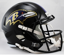 Baltimore Ravens Full Size Deluxe Replica Speed Helmet