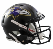 Baltimore Ravens Revolution Speed Riddell Authentic Helmet