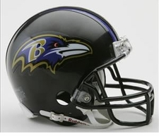 Baltimore Ravens Riddell Replica Mini Helmet