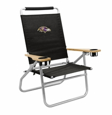 Baltimore Ravens  - Seaside Beach Chair