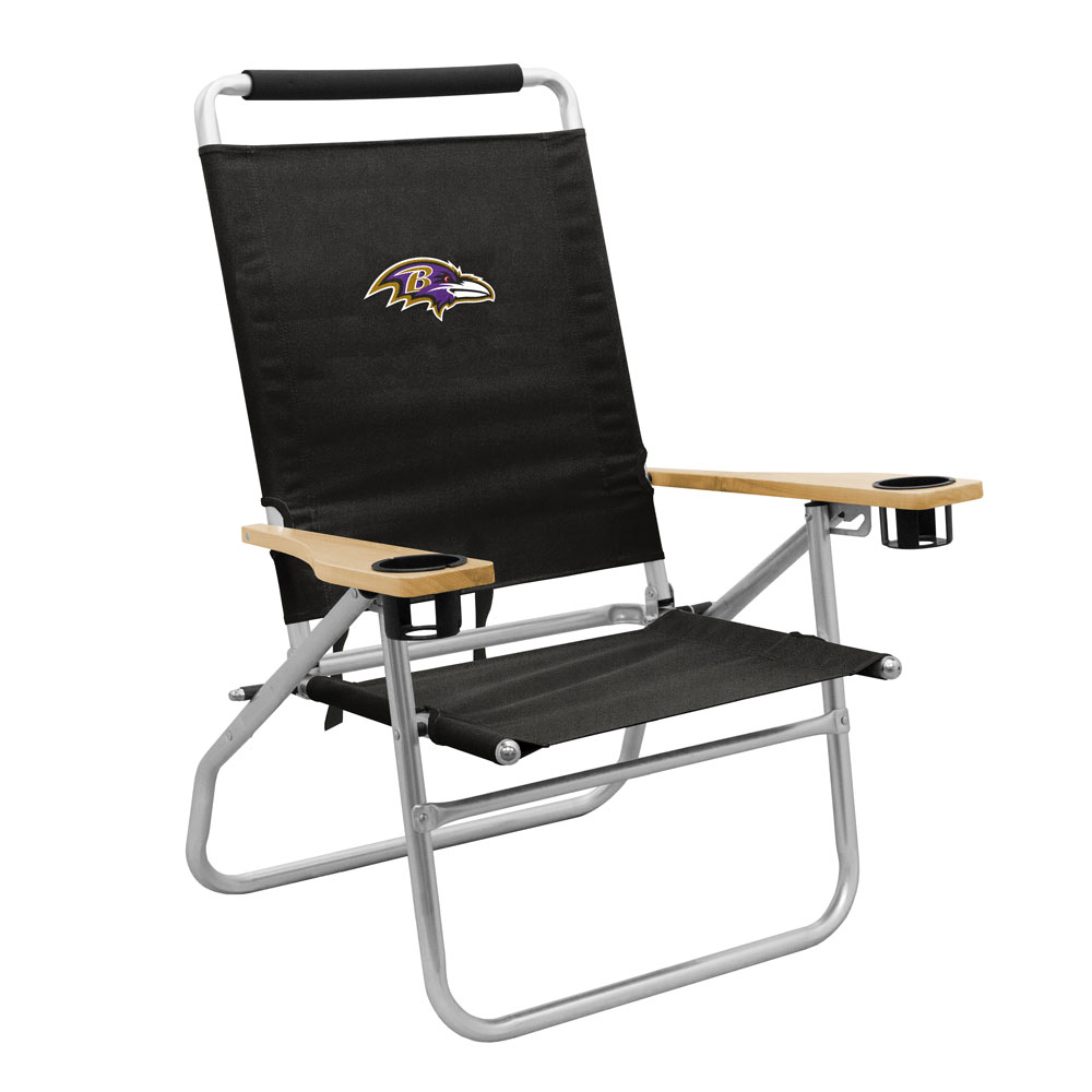 sc 1 st  Bowl-Bound Sports Store & Baltimore Ravens - Seaside Beach Chair