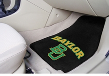 Baylor Bears 2-Piece Carpeted Car Mats Front Set