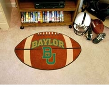 "Baylor Bears 22""x35"" Football Floor Mat"