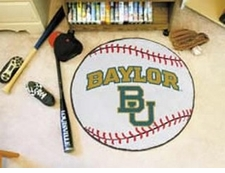 "Baylor Bears 27"" Baseball Floor Mat"