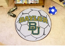 "Baylor Bears 27"" Soccer Ball Floor Mat"