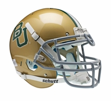 Baylor Bears Gold Schutt XP Full Size Replica Helmet