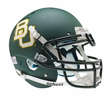 Baylor Bears Green Schutt XP Authentic Helmet