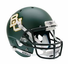 Baylor Bears Matte Green Schutt XP Full Size Replica Helmet