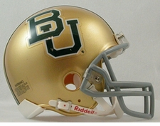 Baylor Bears Riddell Replica Mini Helmet