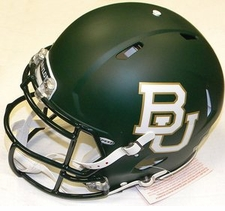 Baylor Bears Riddell Revolution Speed Authentic Helmet