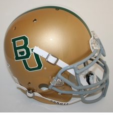 Baylor Bears Schutt Authentic Full Size Helmet