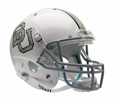 Baylor Bears White Camo Schutt XP Full Size Replica Helmet